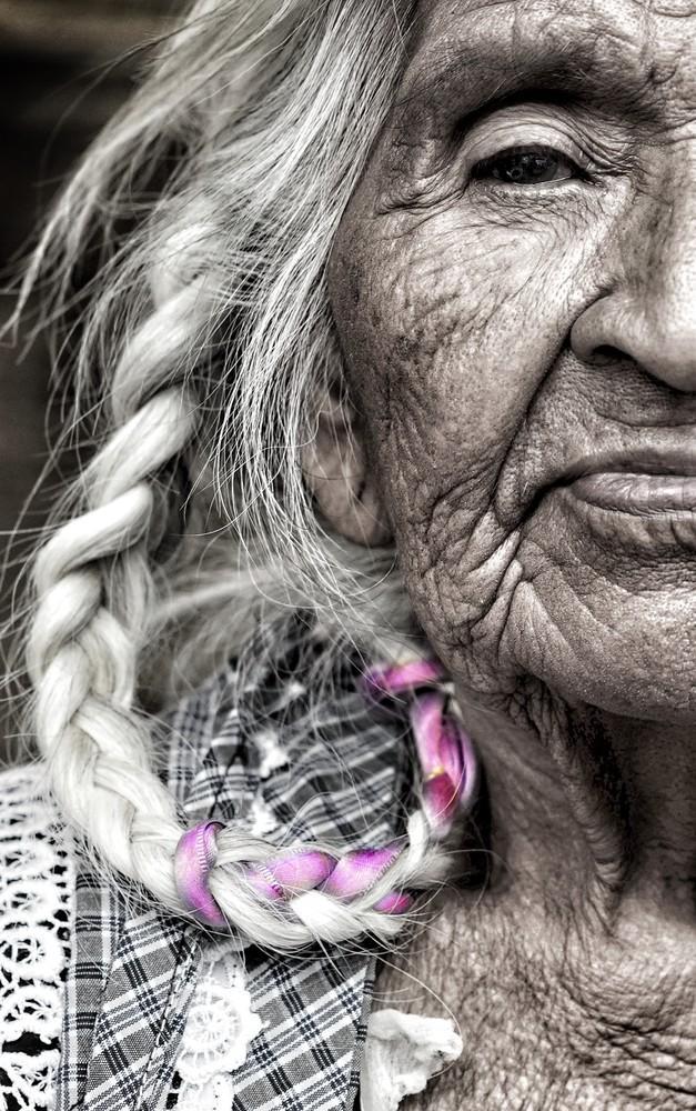 Purple Braid Art | Danny Johananoff