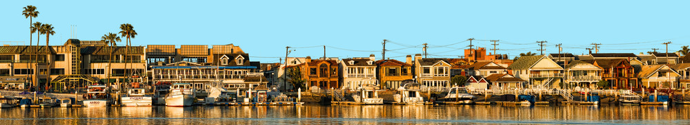 Balboa Peninsula Panorama Photography Art | Shaun McGrath Photography