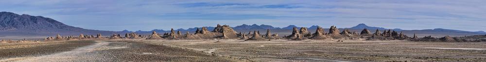 Trona Pinnacles Panorama Photography Art | Shaun McGrath Photography