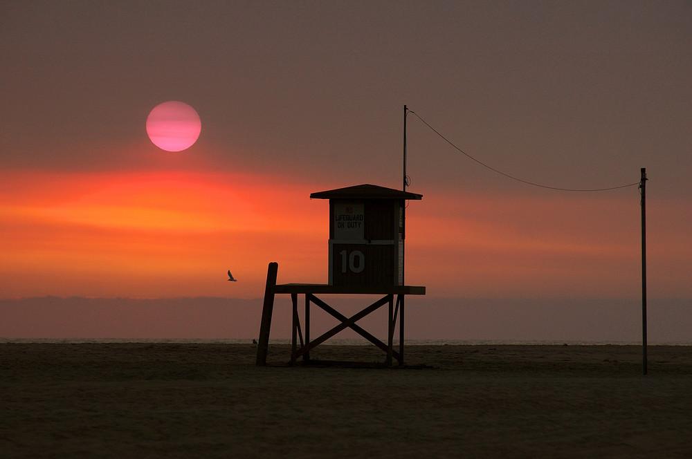 Wildfire Sunset Photography Art | Shaun McGrath Photography