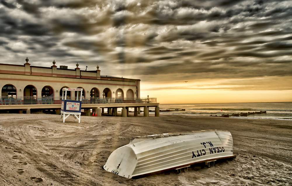 Music Pier Sunrise Photography Art | Soaring Whales Photography LLC