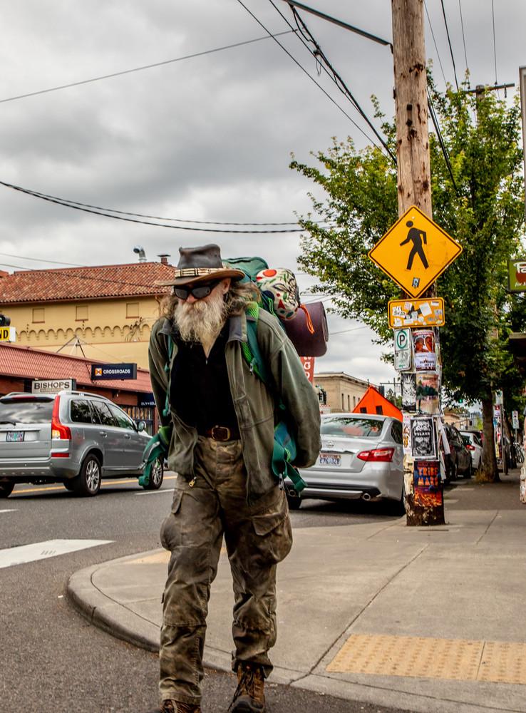 Crosswalk Portland Photography Art   Dan Katz, Inc.