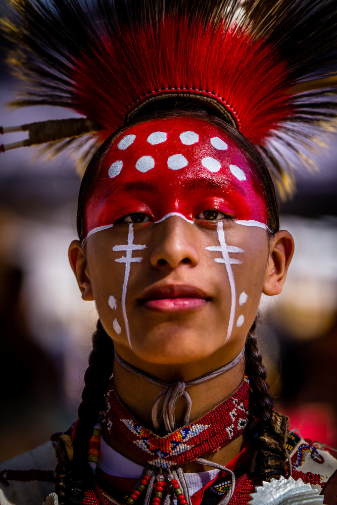 Tribal Dress Chumash Pow Wow 2017 Photography Art | Dan Katz, Inc.