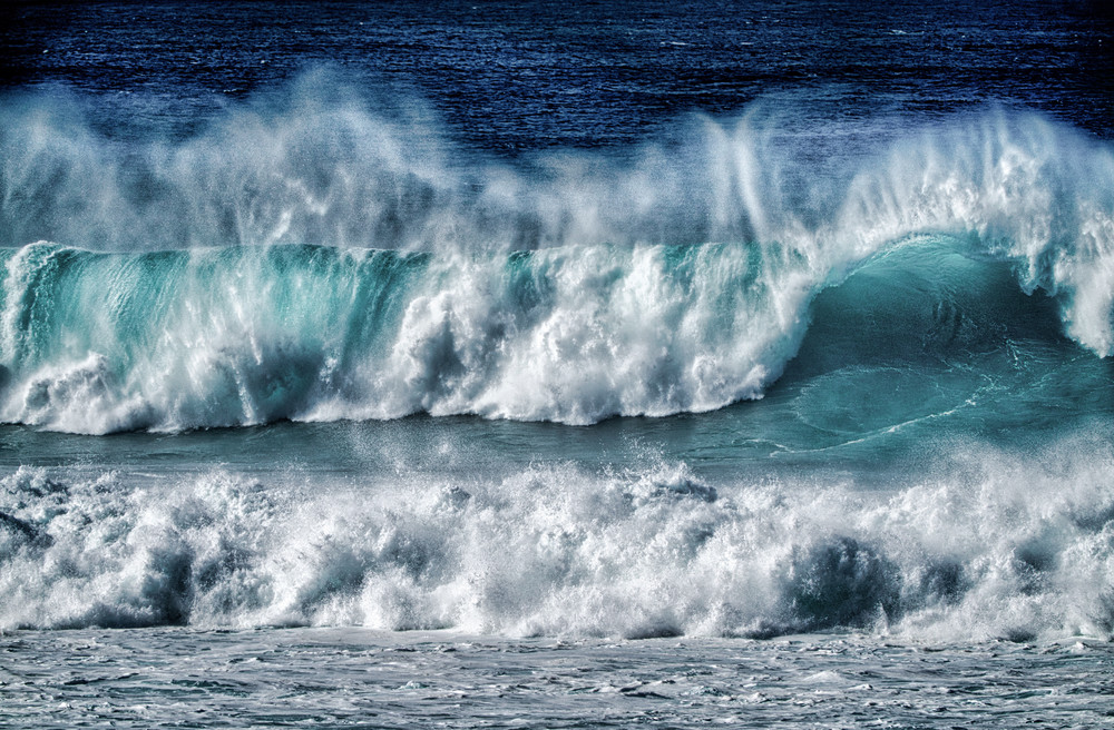 Winter Swell 2   Maui North Shore Photography Art | Soaring Whales Photography LLC