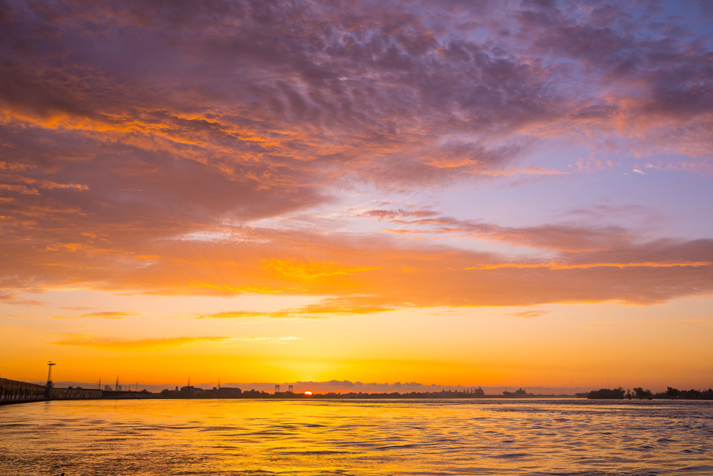 Sunrise On The Mississippi Photography Art | Laura Tidwell Photography