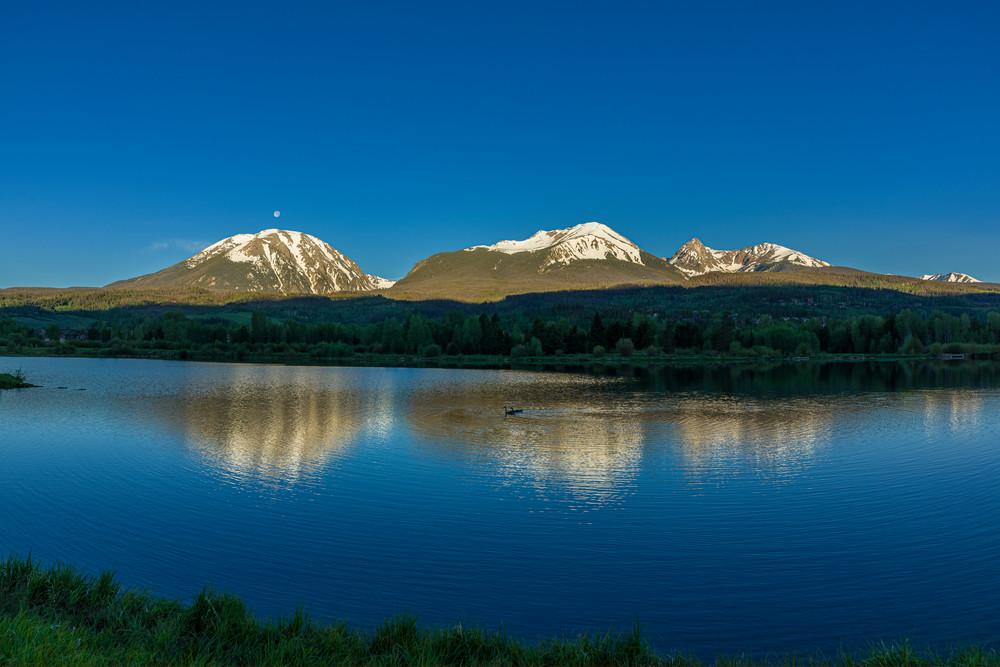 Gore Mtn. Range, Silverthorne, Colorado • Summer