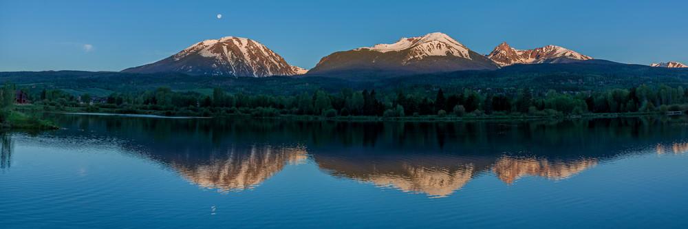 Gore Mtn. Range, Silverthorne, Colorado • Summer, Summer