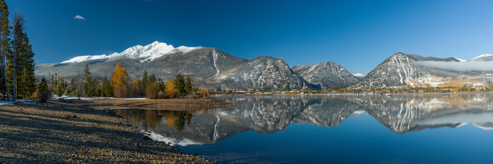 Lake Dillon & Ten Mile Range, Summit County, Colorado, Fall
