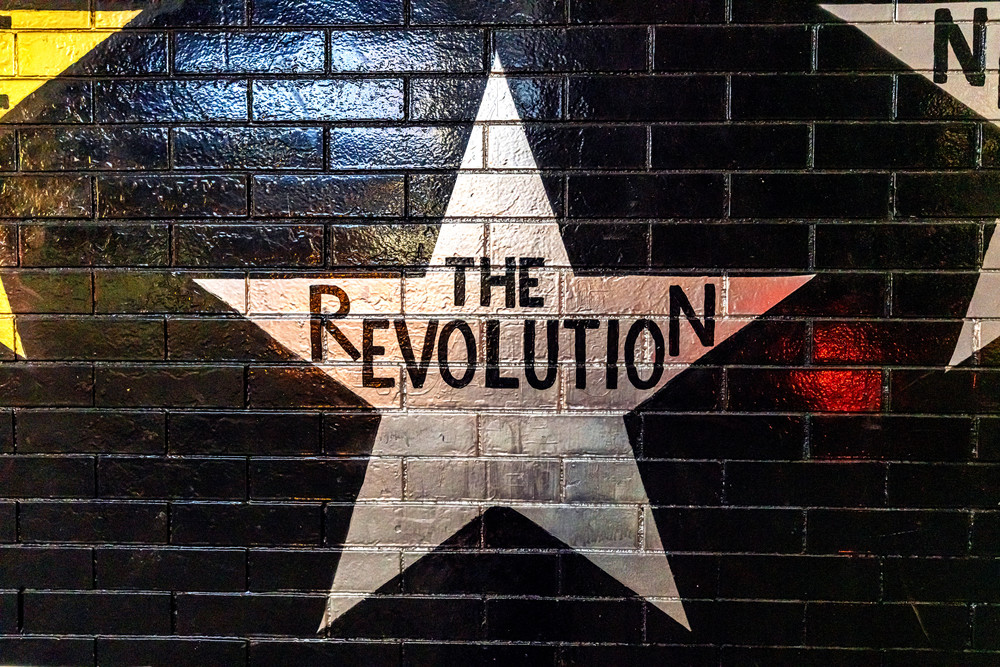 The Revolution Star - Minneapolis Art