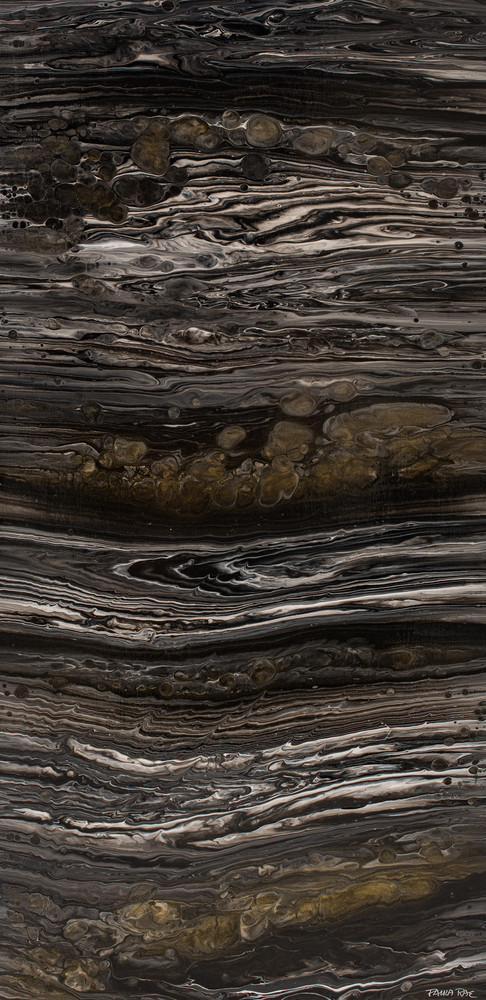 Granite's Gold   Geological Abstraction Collection Art | Paula Rae Studio