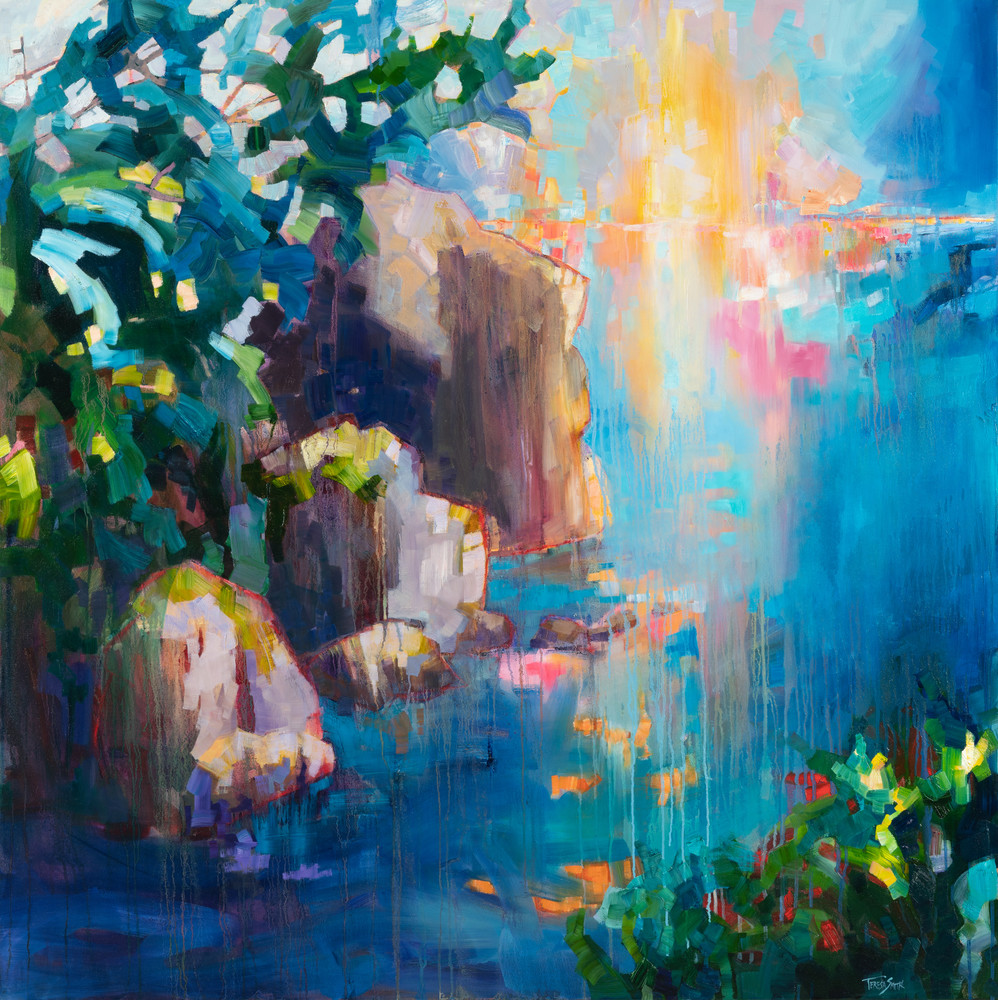 Rock On Water Art | Friday Harbor Atelier