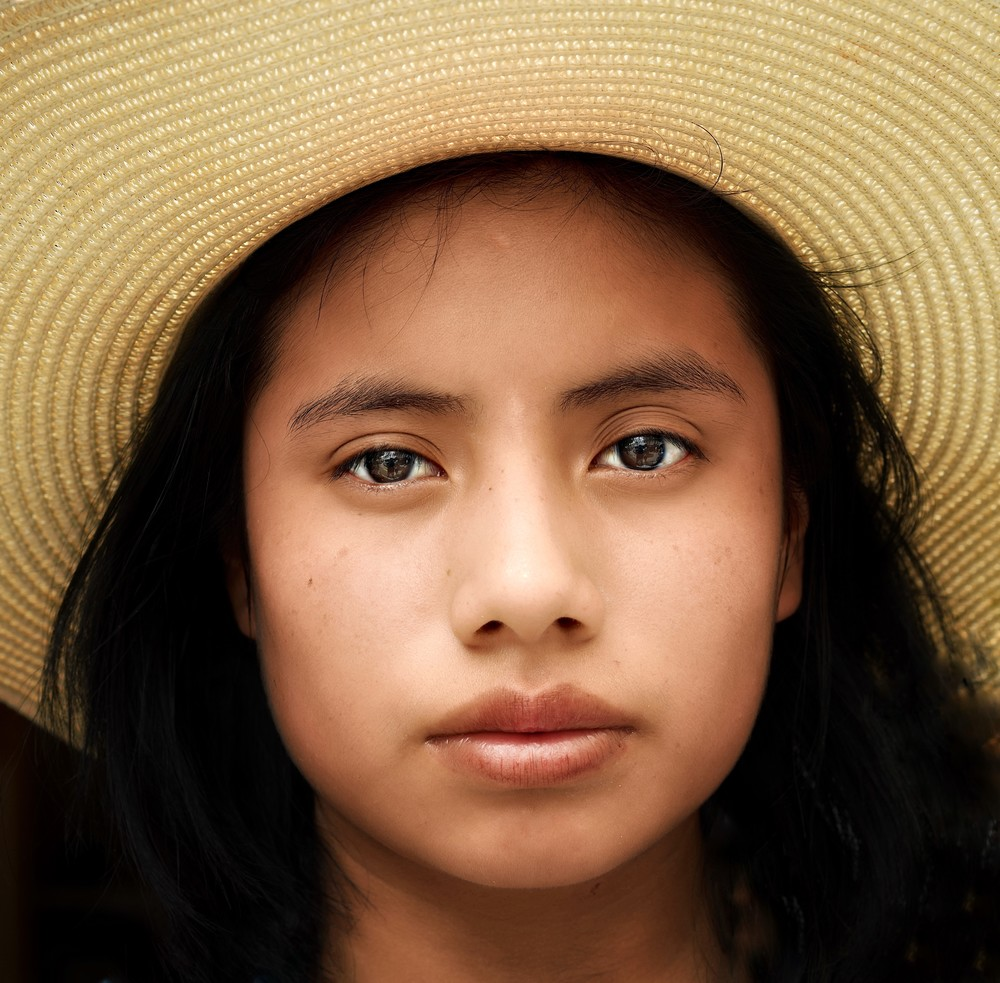 Oaxacan Girl Art | Danny Johananoff