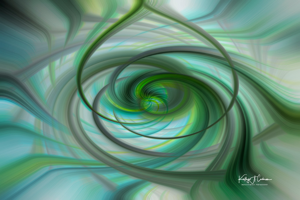 Green Spin Photography Art | Images2Impact