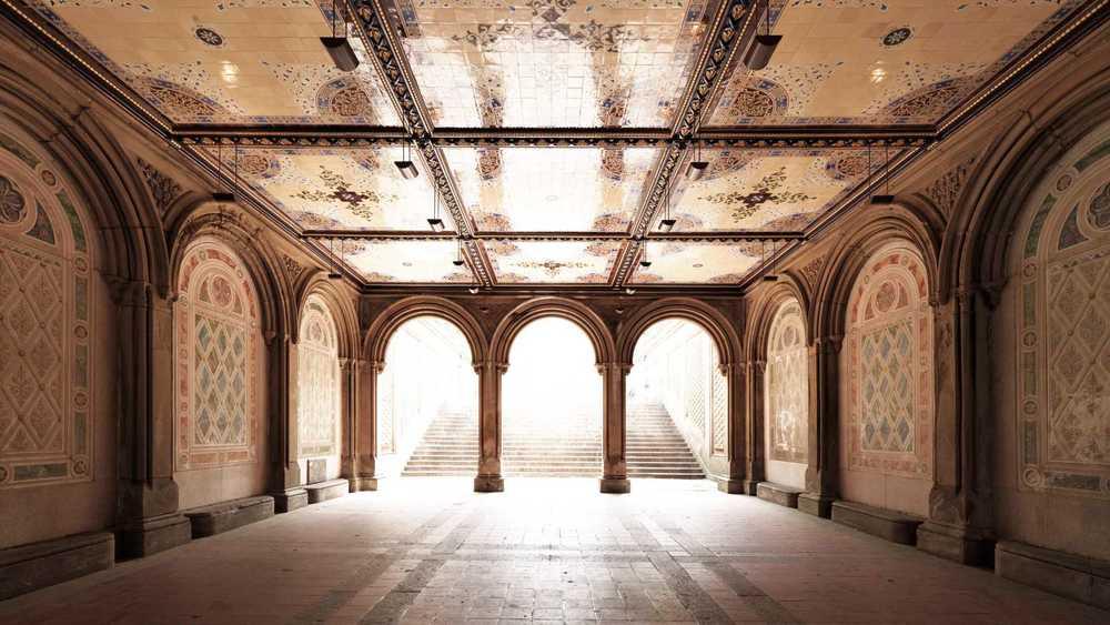 Bethesda Tunnel Photography Art   DE LA Gallery