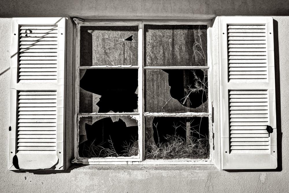 Broken Windows In Trona Photography Art | Shaun McGrath Photography