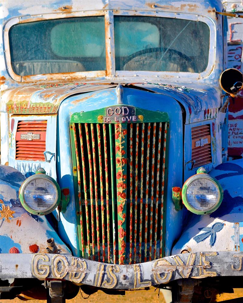 God Is Love Truck Photography Art | Shaun McGrath Photography
