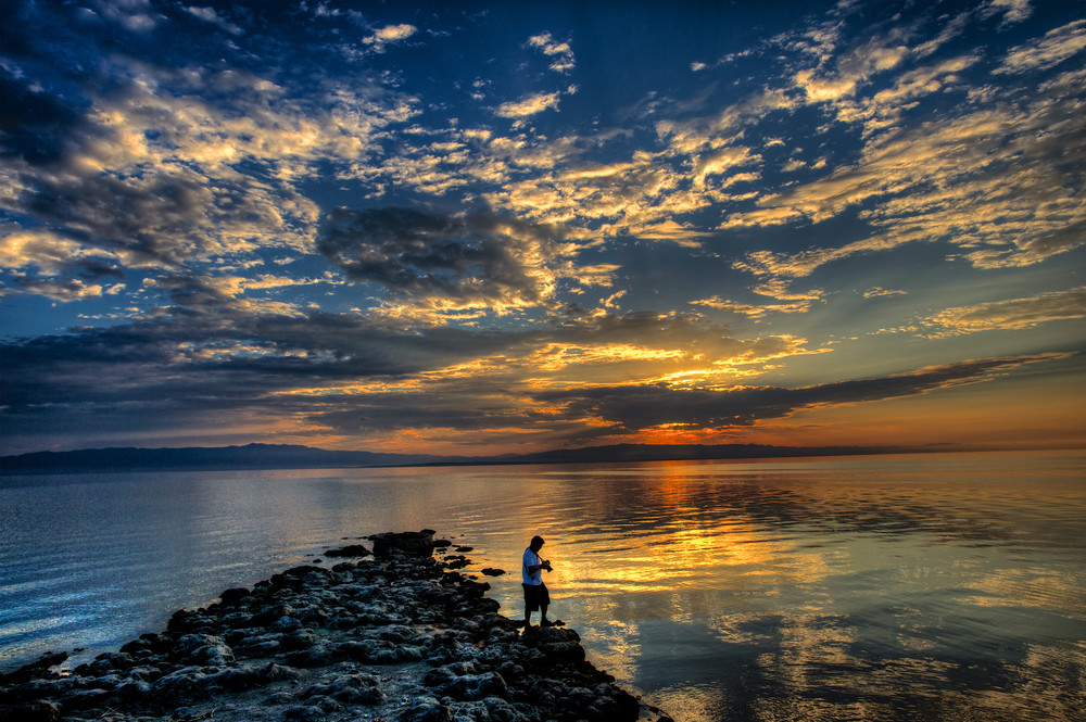 Salton Sea Sunrise Photography Art | Shaun McGrath Photography