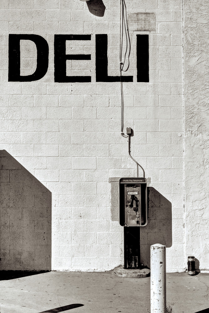 Vintage Phone And Deli Photography Art | Shaun McGrath Photography