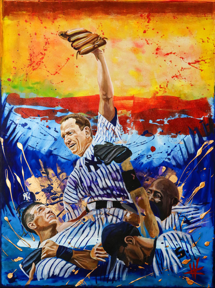 David Cone's Perfect Game. Open Edition Art   Cortney Wall Fine Art