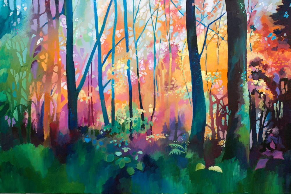 Woodland Nature Tree Art print / Di Battista