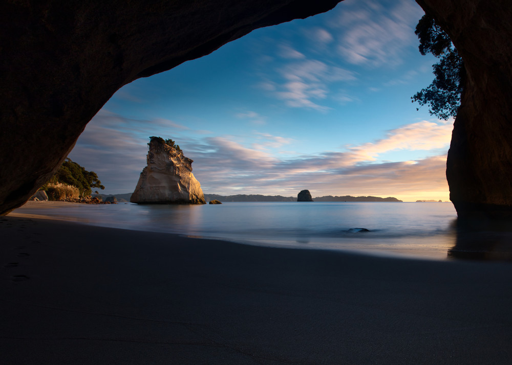 Cathedral Cove Sunrise Art | Chad Wanstreet Inc