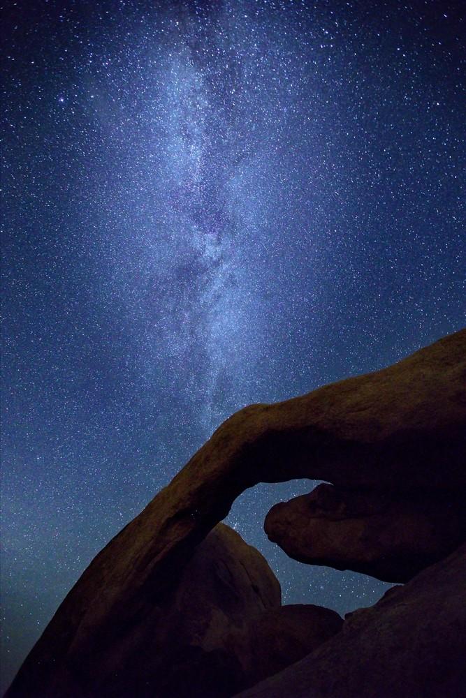 Milky Way Over Joshua Tree Photography Art | Chad Wanstreet Inc