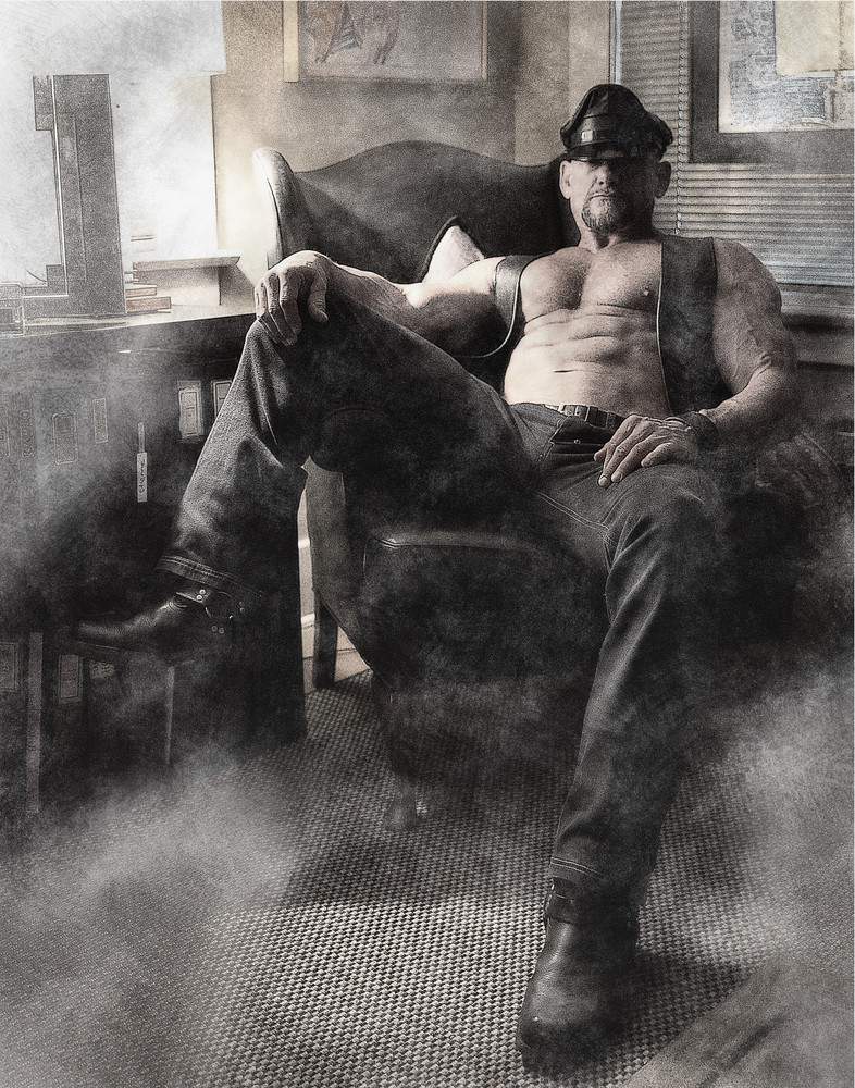 Sir In Chair Photography Art   Kristofer Reynolds Photography