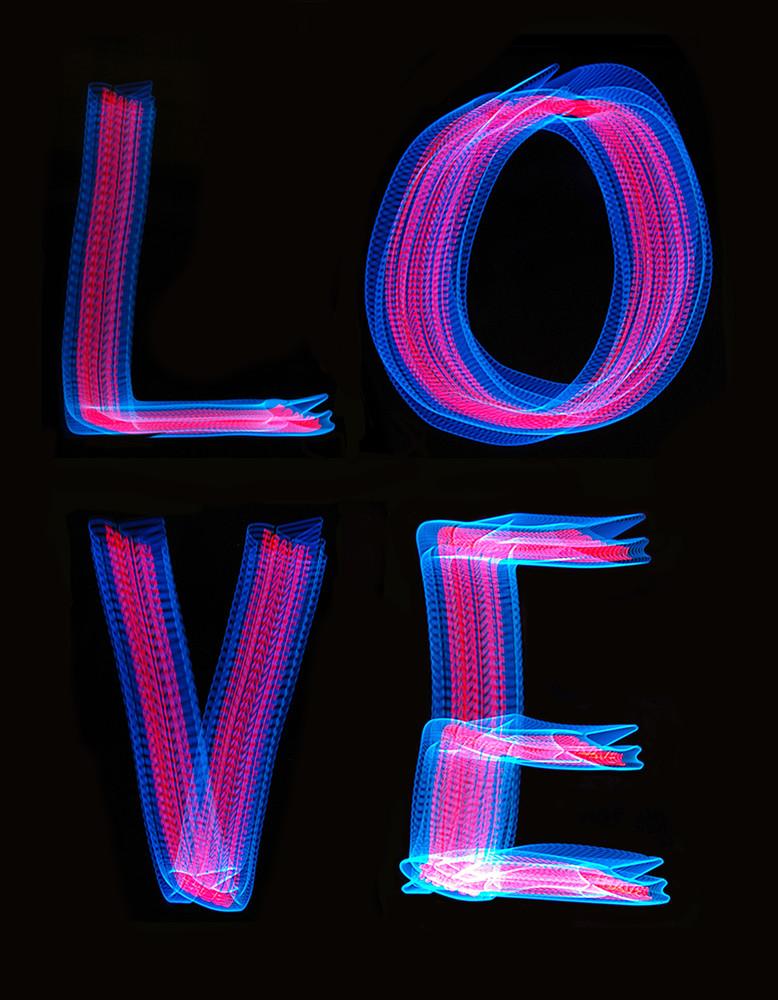 Love Light Painting 2 Photography Art   David Louis Klein