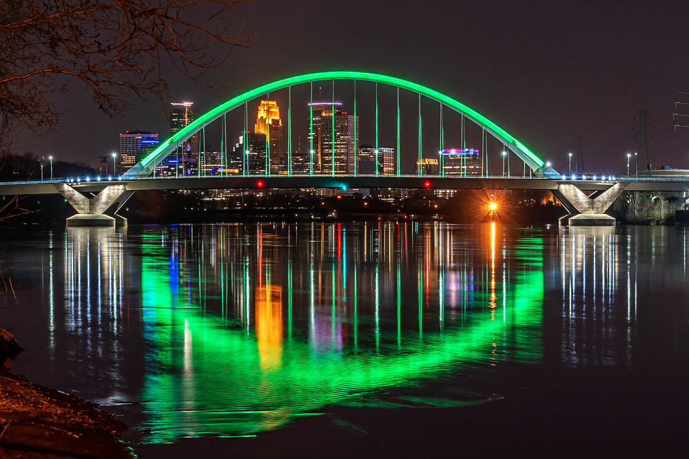Minneapolis in Green for Earth Day 2020 - Images of Minneapolis