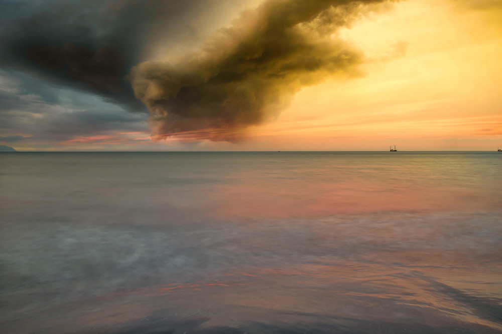 Calm Before The Storm | Tropical Landscape Photography Print