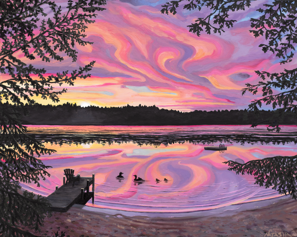 'Loon's Nest' Art for Sale