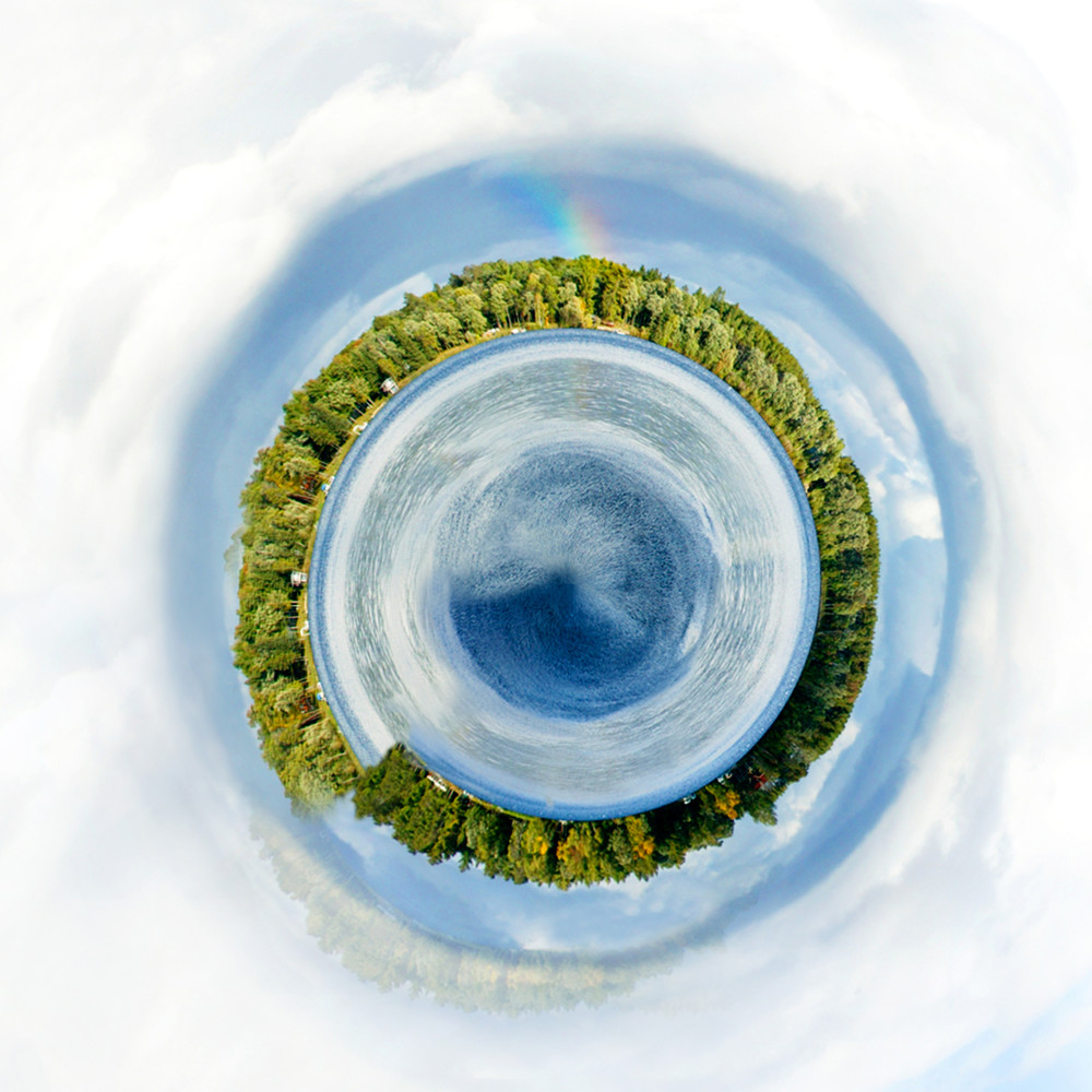 Long Lake Planet, Fine Art Photography by Laura Grisamore.