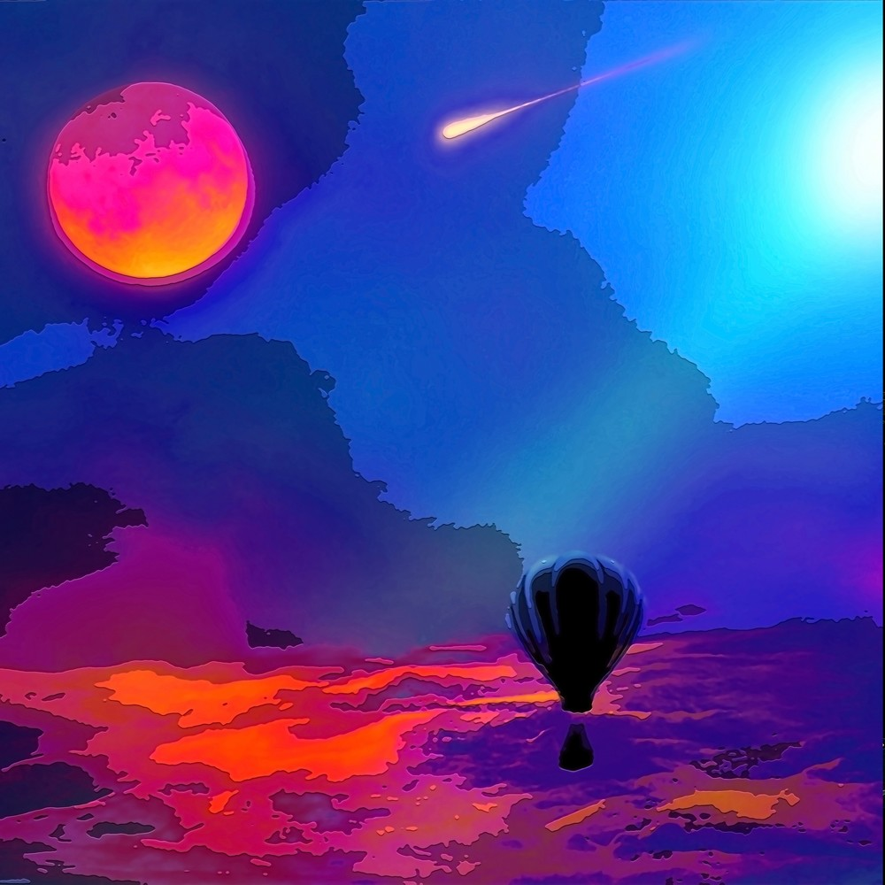 Space Fantasy Art - Front Row Seat - Don White Art Dreamer