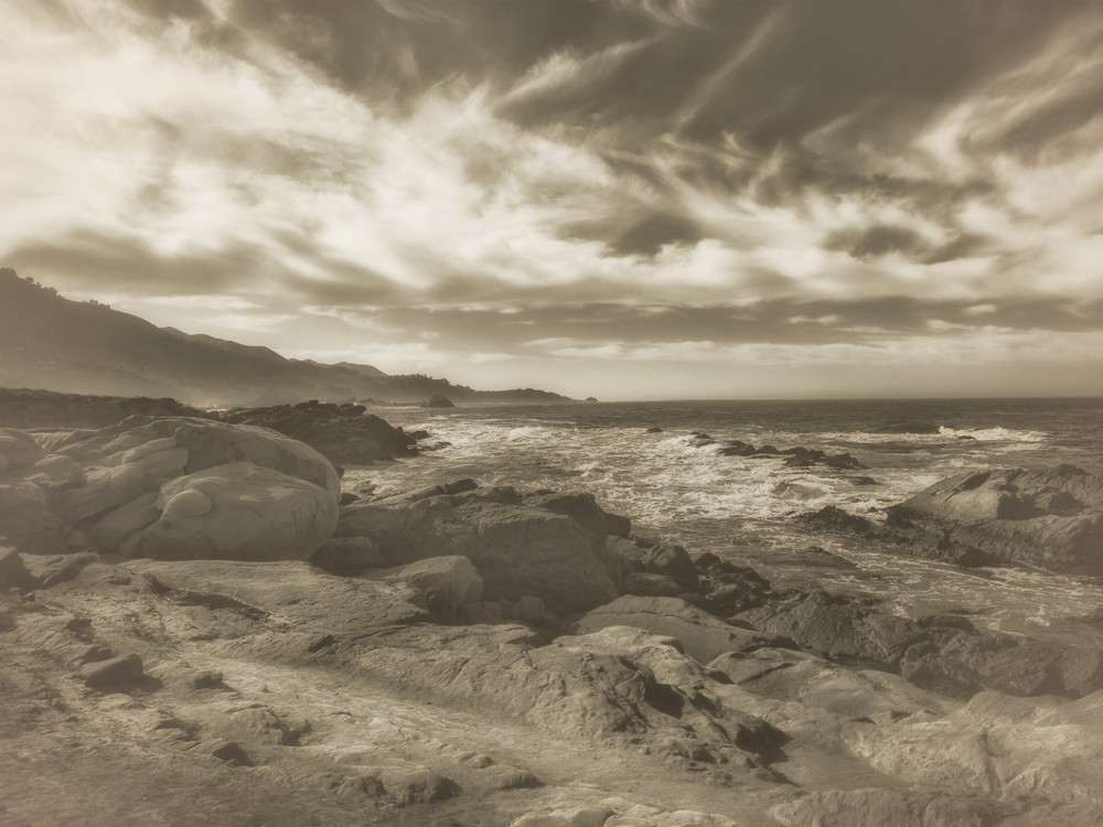 Weston Beach Big Sur Ca Photography Art | Mark Steele Photography Inc