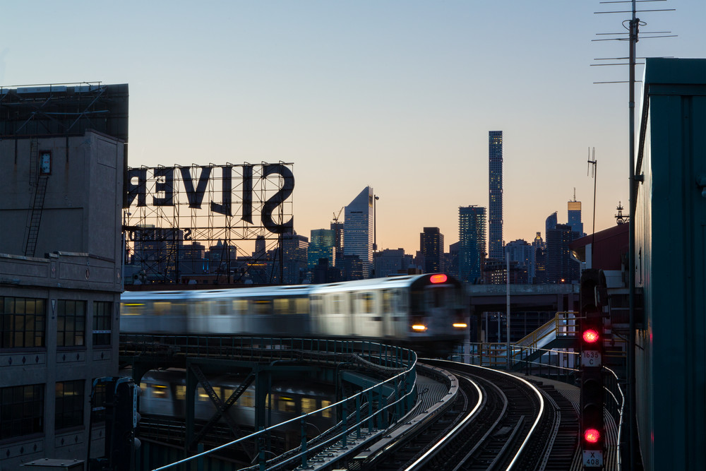 7 Train In Long Island City Art | Jason Homa