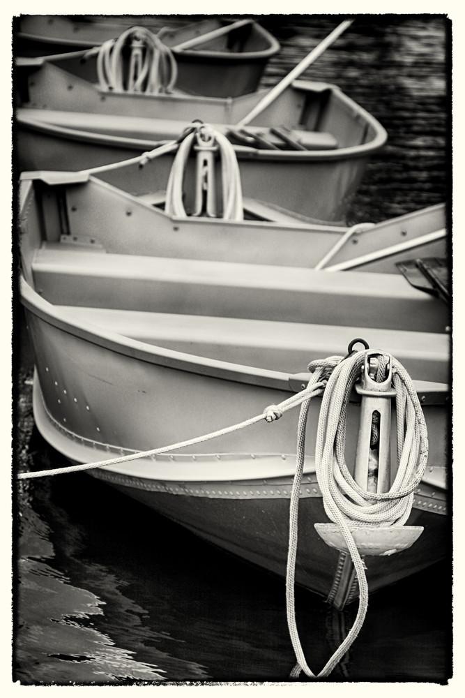 Three Boats by Jeremy Simonson