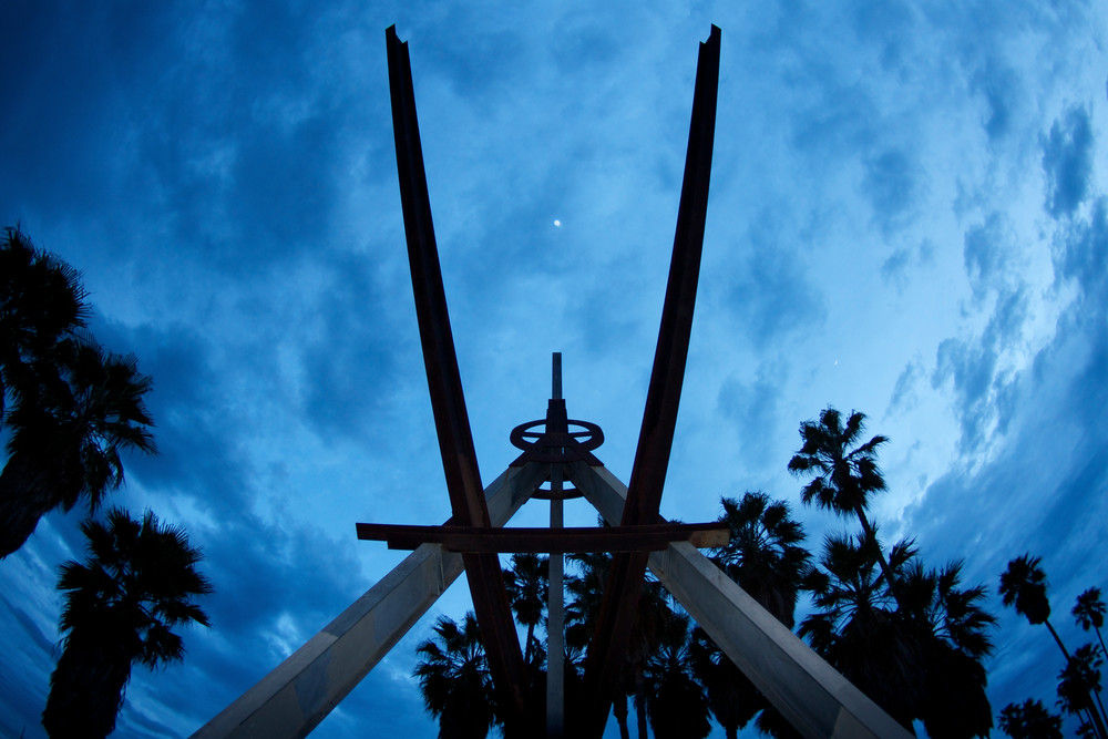 Venus Over Venice Photography Art   Michael Scott Adams Photography