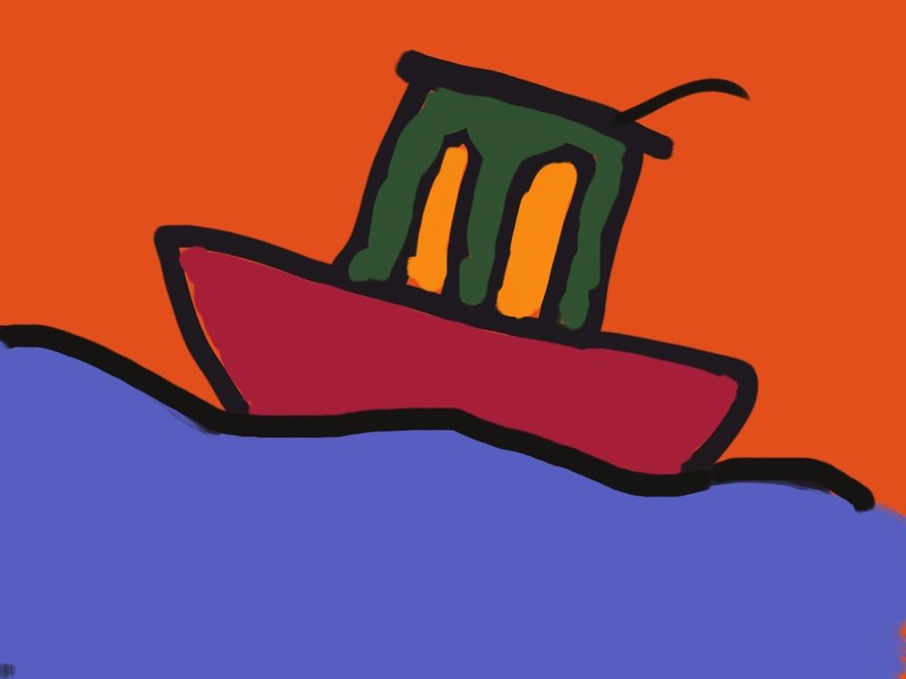 Boat Art | stephengerstman