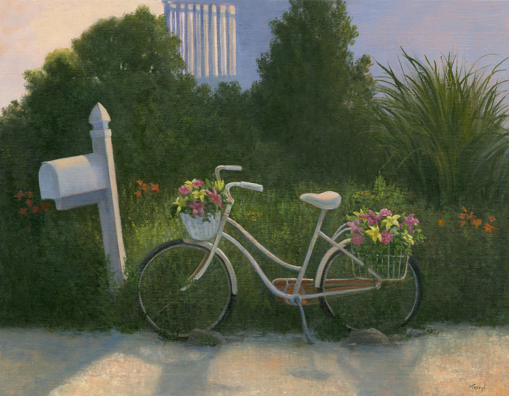 old-bike, bike-flower-basket,
