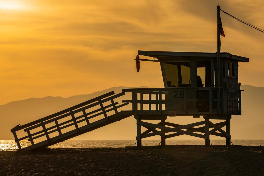 Tower 26 Sunset Photography Art | Michael Scott Adams Photography