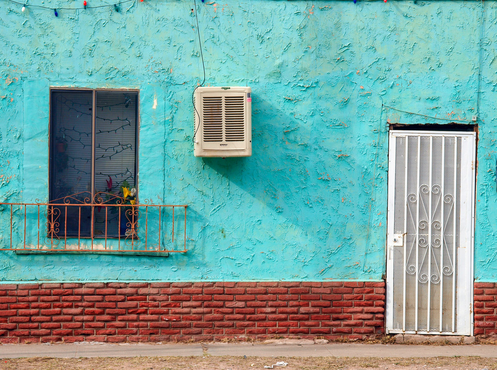 Textured Turquoise | El Paso Art Photography