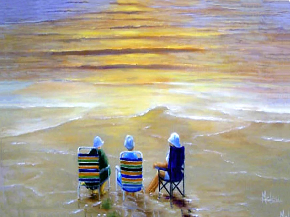 The Good Life, From an Original Oil Painting
