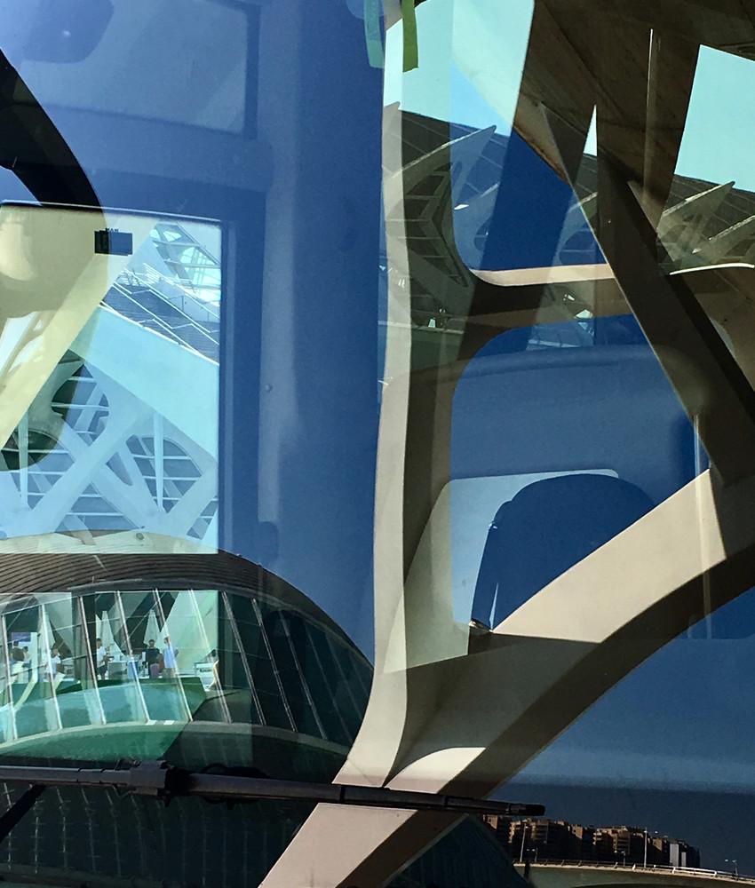 Calatrava Bus Reflections