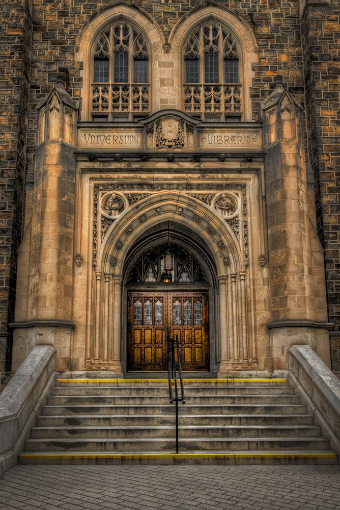 The Doors of Linderman - Lehigh University - Michael Sandy Photography
