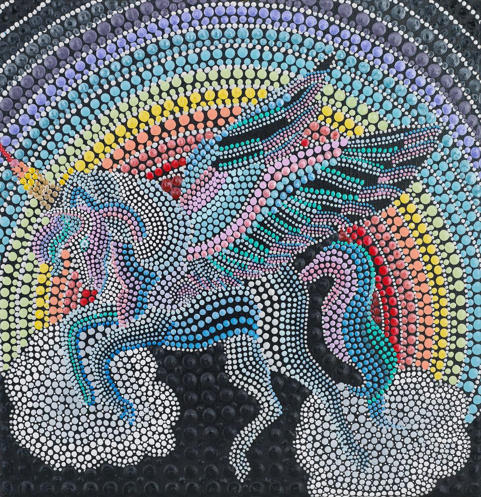 I Love Unicorns Magical Print