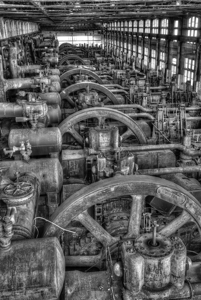 Bethlehem Steel Blower House II - Michael Sandy Photography