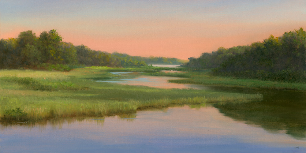 *Sunrise On The Cape, West Yarmouth Art | Tarryl Fine Art
