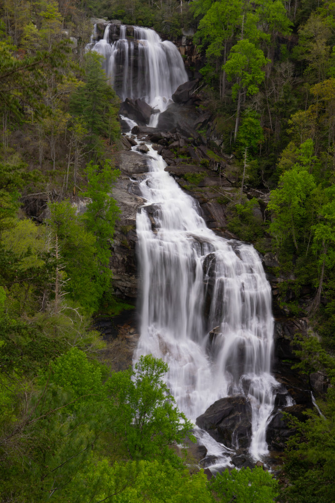 Whitewater Falls Art | Drew Campbell Photography