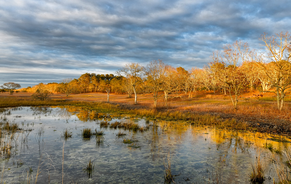 Long Point Spring Sunset Art | Michael Blanchard Inspirational Photography - Crossroads Gallery