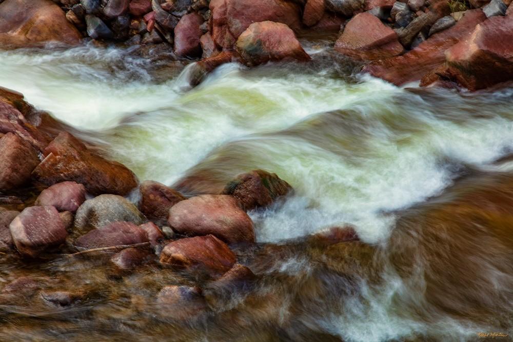 Eldorado Spring Flow  8095 Cb S19  Photography Art | Koral Martin Healthcare Art
